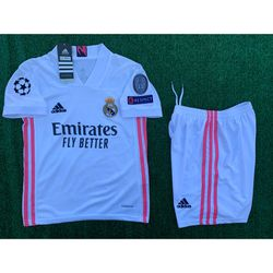 2020/21 Real Madrid youth soccer jersey kids for Sale in Raleigh,  NC