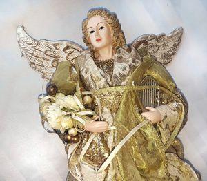 "16"" Angel tree topper for Sale in Lakeland, FL"