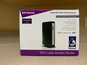 NETGEAR N450 WiFi Cable Modem Router for Sale in Pembroke Pines, FL