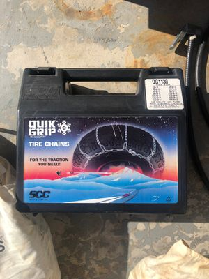 Quick grip tire chains for Sale in Santa Ana, CA