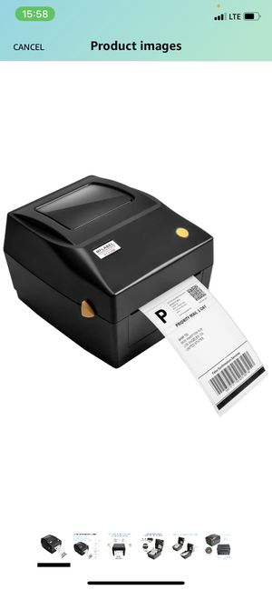 MFLABEL Label Printer, 4x6 Thermal Printer, Commercial Direct Thermal High Speed USB Port Label Maker Machine, Etsy, Ebay, Amazon Barcode Express Lab for Sale in Staten Island, NY