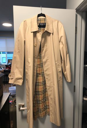 Burberry men's trench coat for Sale in Portland, OR
