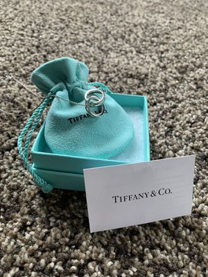 "Tiffany & Co. Interlocking Rings Pendant Necklace (16"") for Sale in Boston, MA"
