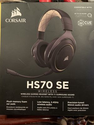 Corsair HS70 SE wireless headset for Sale in Diamond Bar, CA