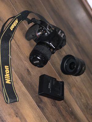 Nikon D3300 and Nikon DX AF-S Nikko 35 mm Lense for Sale in Macon, GA