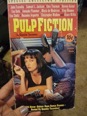 Vintage Pulp Fiction VHS works for Sale in Reedley, CA