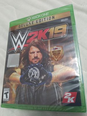 XBOX ONE WWE 2K19 Deluxe Edition XB1 for Sale in Miami, FL