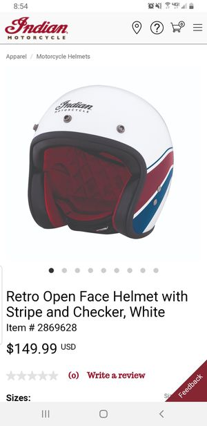 indian motorcycle helmet size Large for Sale in Lithia, FL