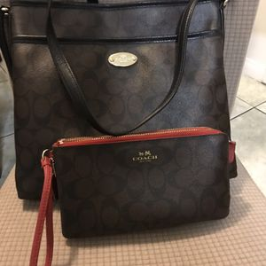 Purse And Wallet Coach Set for Sale in Anaheim, CA