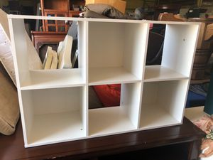 White storage cube shelves for Sale in Fort Worth, TX