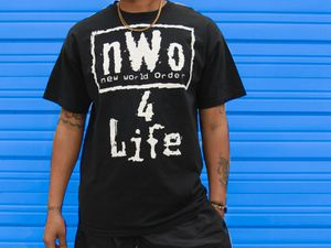 WCW NWO 4 Life Shirt for Sale, used for sale  Carencro, LA