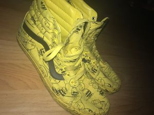 Charlie Brown Men's Vans - Size 11.5 for Sale in Los Angeles, CA