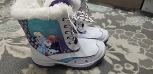 Girls snow boots size 1 for Sale in Rancho Cordova, CA