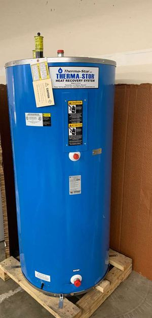114 gallon THERMA-STOR WATER HEATER WITH WARRANTY H0II for Sale in Dallas, TX