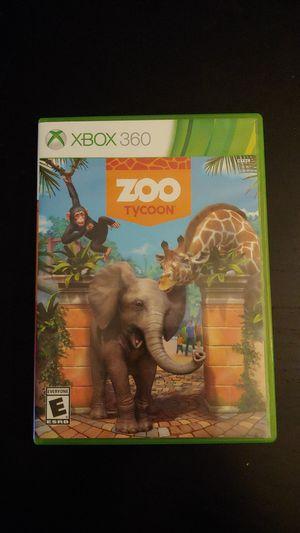 XBOX 360 Zoo Tycoon Game Working for Sale in Tacoma, WA