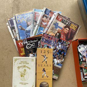 Baseball , Nasscar, Basketball etc too much list for Sale in Graham, WA