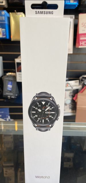 Samsung Galaxy Watch 3 45MM (NEW) 2020 Model for Sale in Rialto, CA
