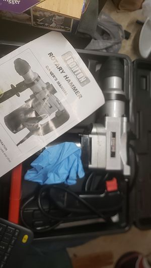 Ironton rotary hammer for Sale in Houston, TX
