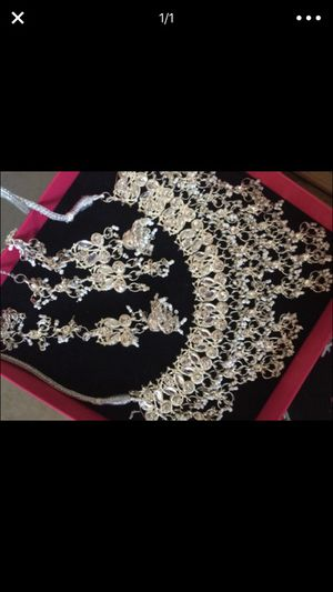 Wedding party jewelry necklace for Sale in Lodi, CA