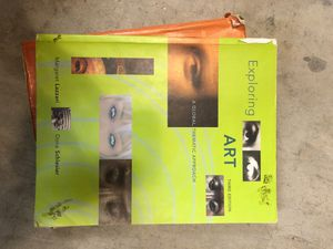 Exploring Art - A global, thematic approach. Third Edition by Margaret Lazzari & Dona Schlesier for Sale in Orange, CA