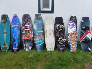 wakebords need gone asap. 250$ obo for Sale in Bonney Lake, WA