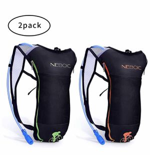 2 Pack Hydration Backpack Pack with 2L Hydration Bladder - Lightweight Water Backpack Keeps Water Cool up to 4 Hours with Big Storage for Kids Women for Sale in Arcadia, CA