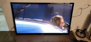 "LG 60"" Plasma TV w/wall mount for Sale in Ontario, CA"