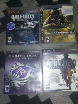 Ps3 games for Sale in San Angelo, TX