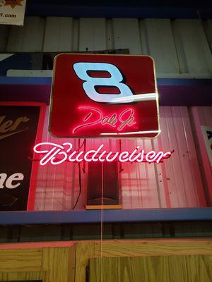 Dale Earnhardt vintage budweiser neon sign for Sale in Sacramento, CA