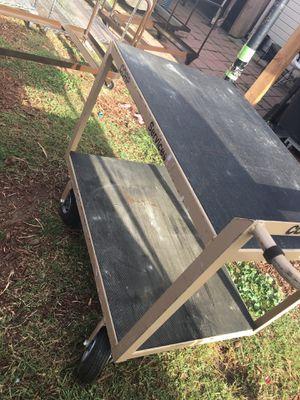 heavy duty metal cart for Sale in Castro Valley, CA