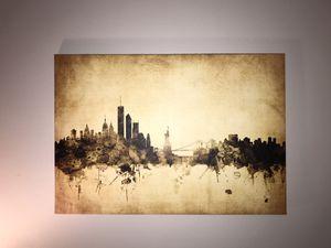 New York skyline wall art for Sale in Arlington, VA
