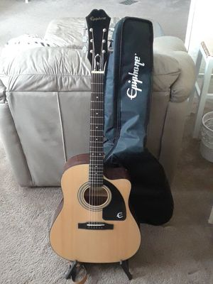 Epiphone Acoustic /Electric Guitar for Sale in Ormond Beach, FL