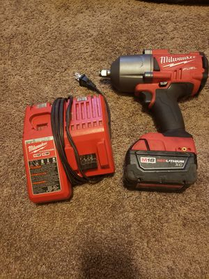 MILWAUKEE M18 Fuel 1/2 impact wrench for Sale in Tacoma, WA