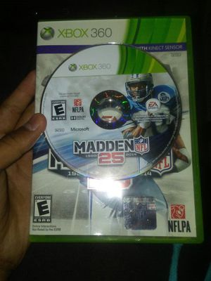 Madden 25 for xbox 360 for Sale in Frostproof, FL