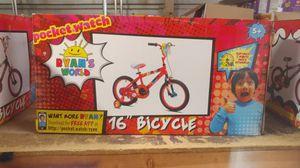 "Ryan's world 16"" bicycle for Sale in Wichita Falls, TX"