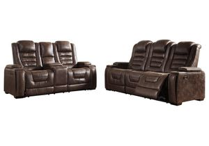 Power recliner power headrest with usb and storage sofa and loveseat for Sale in Elgin, IL