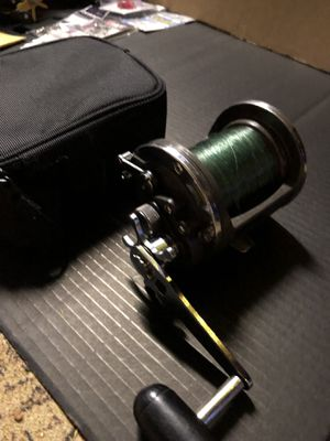 Diawa Sealine 50h fishing reel with free crab snare for Sale in Portland, OR