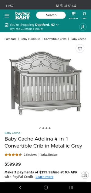 Adelina crib for Sale in Washington Township, NJ