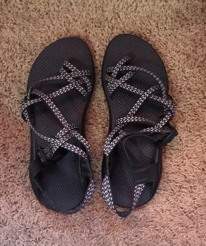 Black and white chacos for Sale in Colleyville, TX