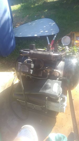 Craftsman 5Gal compressor with paint canister for Sale in Denver, CO