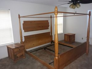 Bed frame only for sale 200 OBO for Sale in Killeen, TX