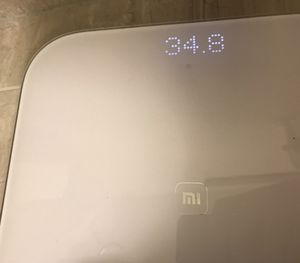 Digital bathroom scale - white for Sale in Seattle, WA