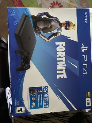 PS4 1 tb more 12 months plus free for Sale in Columbia, MD