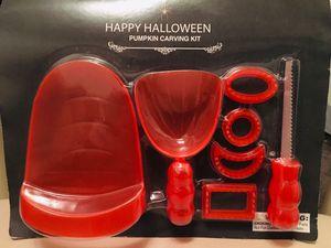 Pumpkin 🎃 Carving Set for Sale in Riverside, CA