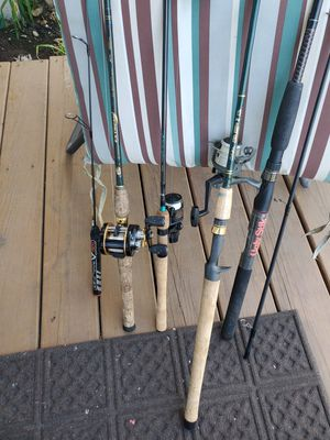 Fishing rods and combos for Sale in Joliet, IL