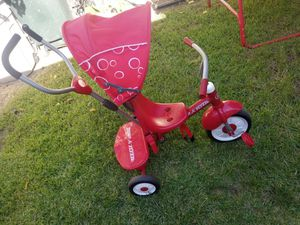 Radio Flyer tricycle 4-in-1 Stroller Trike for Sale in Ontario, CA