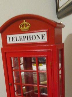 Replica Of British Telephone Booth for Sale in Clovis,  CA