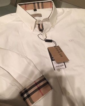 BURBERRY SHIRT FOR MEN NEW & AUTHENTIC for Sale in Dallas, TX