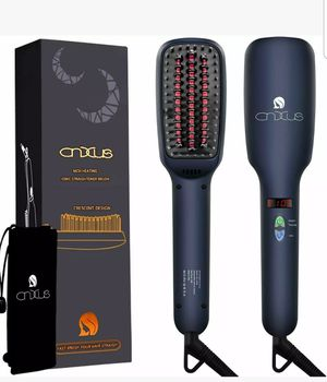 IONIC HAIR STRAIGHTENER BRUSH CNXUS MCH CERAMIC HEATING LED DISPLAY ADJUSTABLE for Sale in Whittier, CA