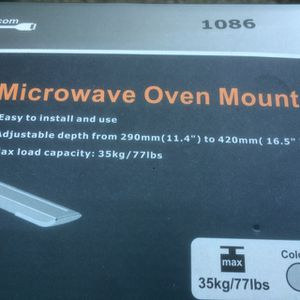 Microwave Wall Mount Kit for Sale in Fremont, CA